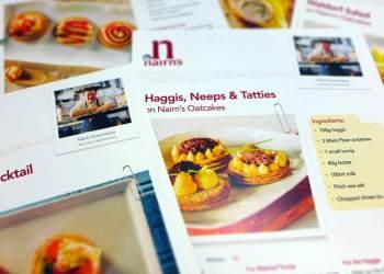 Nairn's oatcakes recipes