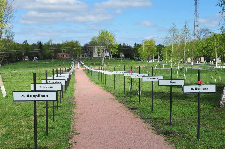 chernobyl ukraine memorial garden
