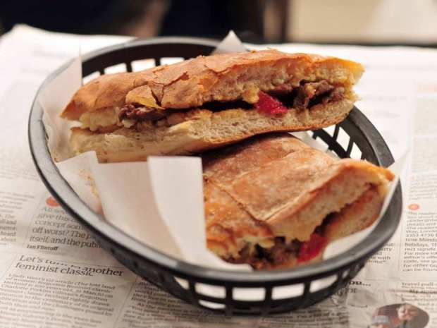 Roast - cheesesteak ciabatta