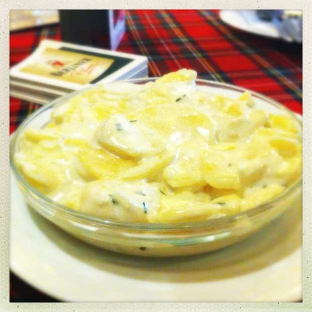 potato salad henne berlin germany food drink glasgow foodie
