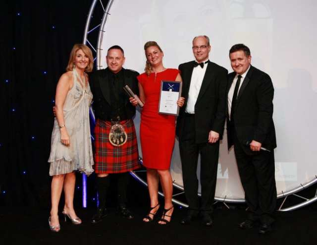 gayle johnstone cis awards glasgow