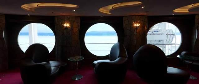 MSC Splendida - Inside looking out