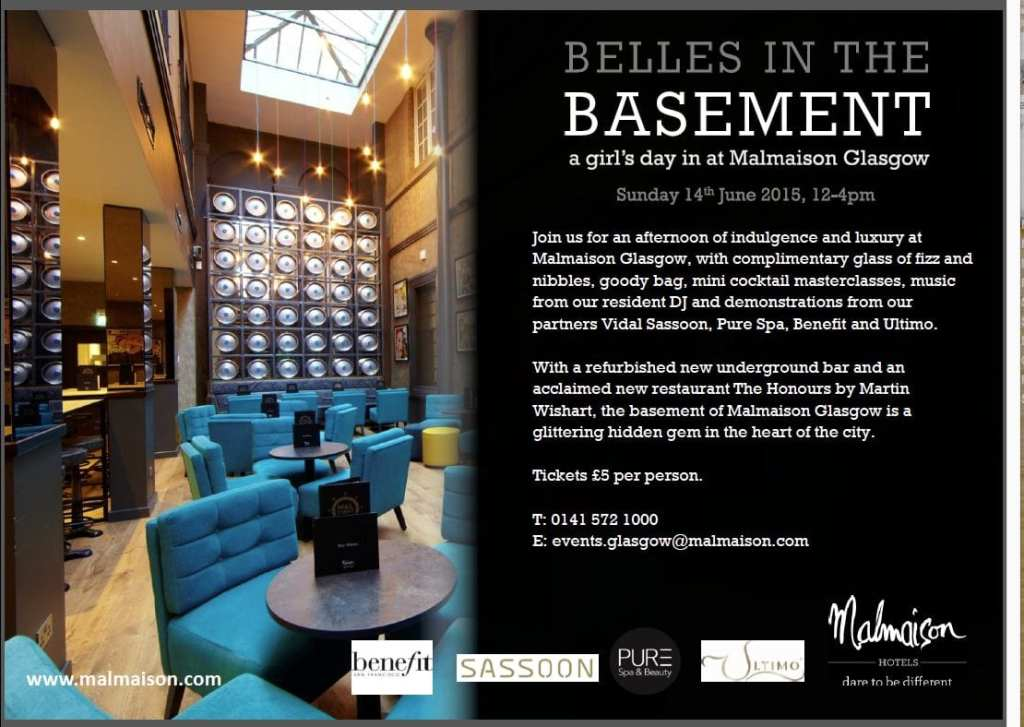 belles in the basement at malmaison