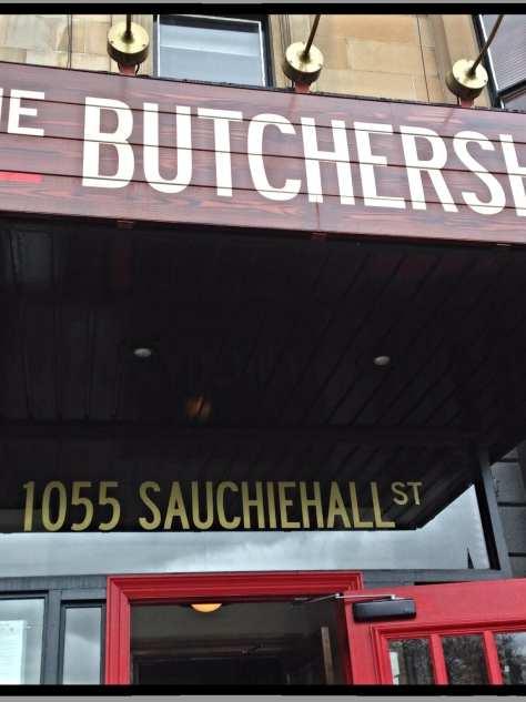 butchershop bar & grill glasgow foodie