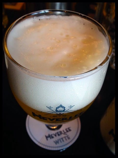 heverlee witte summer beer limited edition glasgow foodie food and drink glasgow