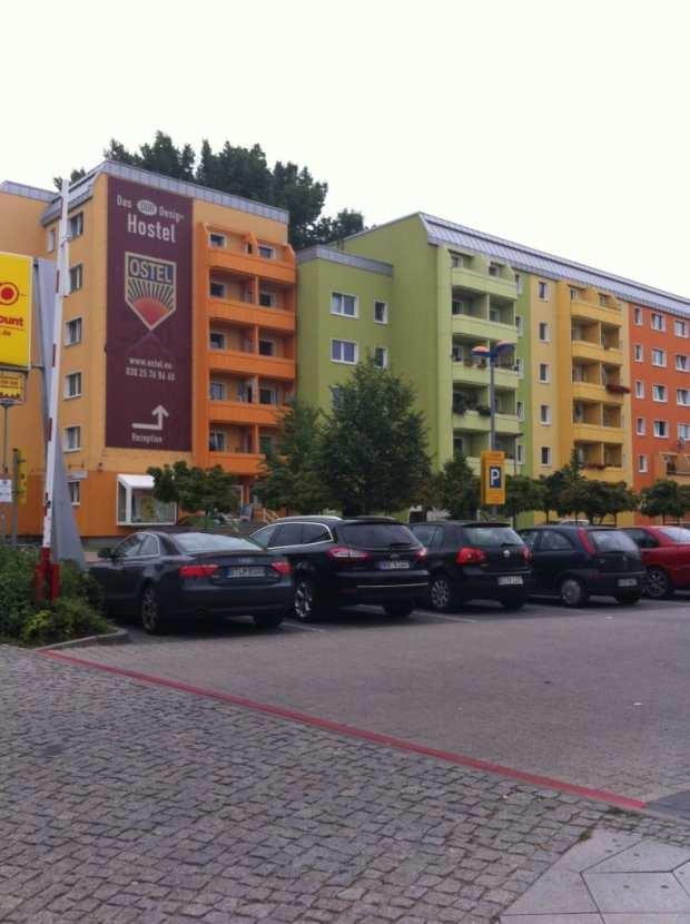 ostel berlin east germany hotel glasgow foodie