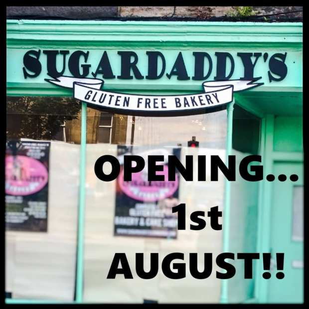 sugar daddy's bakery edinburgh