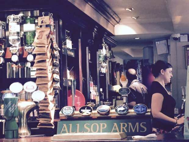 allsop arms london