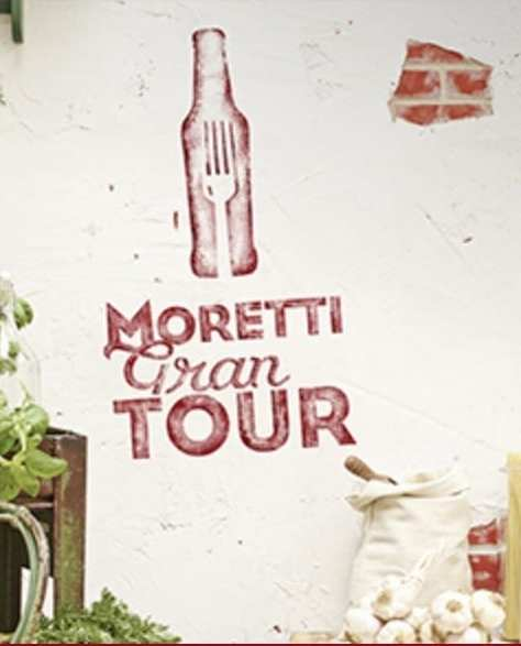 birra moretti gran tour edinburgh leeds london