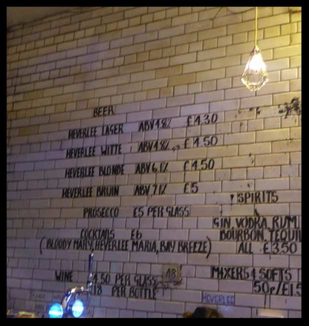beer prices heverlee tontine pop up bar glasgow