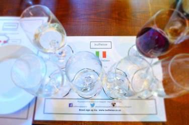 Buffwine - Mambo Italiano, the wine list