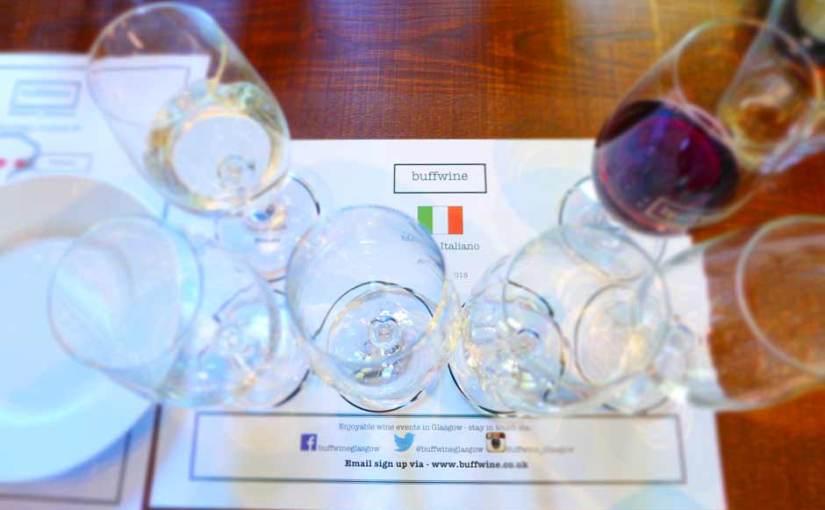 Event: Mambo Italiano Italian wine tasting with Buff Wine at Brel, Ashton Lane, Glasgow