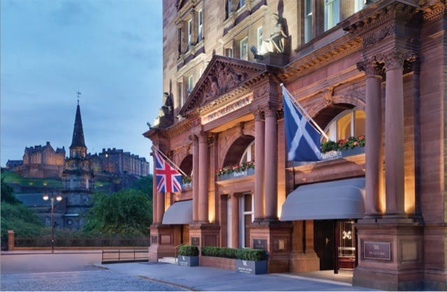the pompadour edinburgh festival fireworks display dinner glasgow foodie