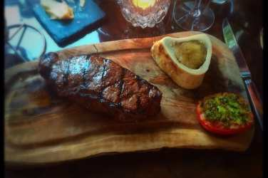 beef sirloin crockers folly london review food drink glasgow foodie explorers