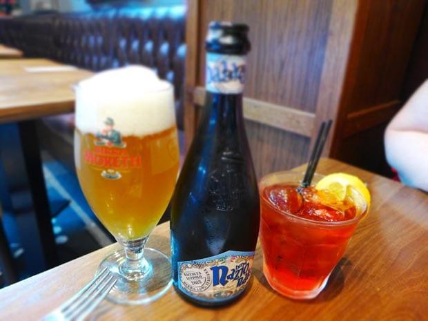 osteria_del_tempo_perso_baladin_beer_americano_cocktail