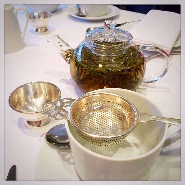 Capital Hotel London Afternoon Tea Review