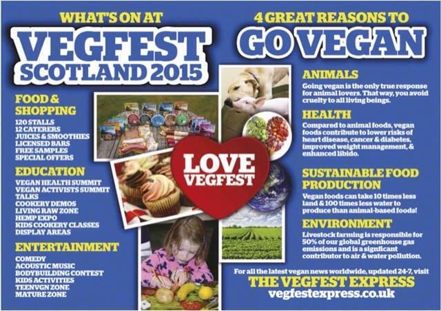 vegfest scotland vegan glasgow secc
