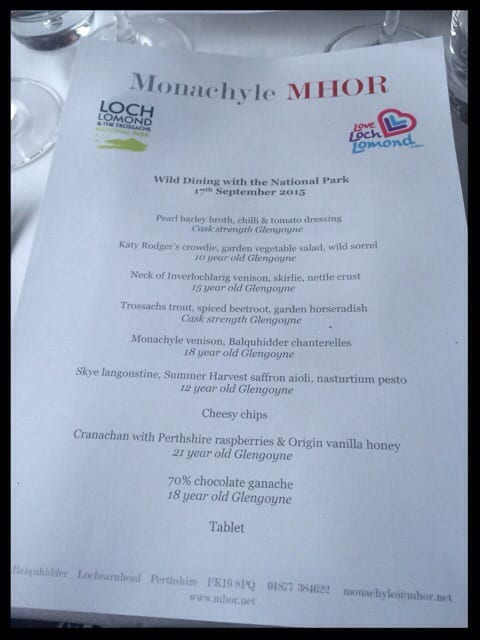 loch lomond and trossachs mhor tom lewis pop up food scotland
