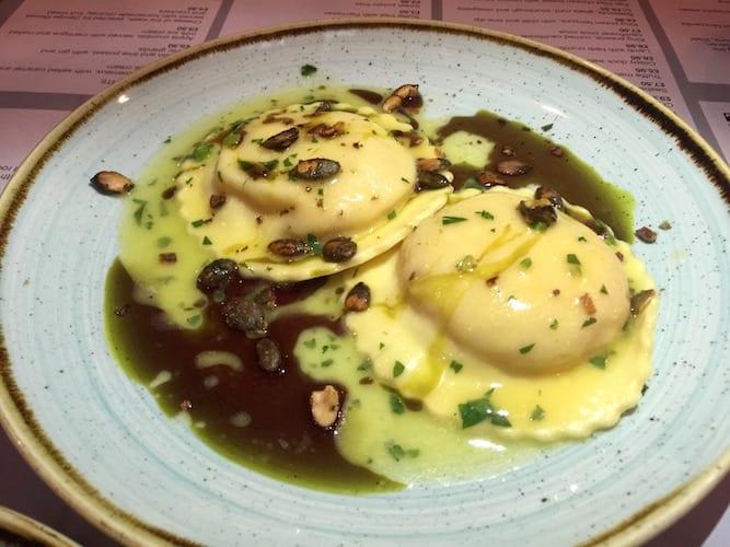 glasgow foodie explorers Black_Dove-Pumpkin_Ravioli