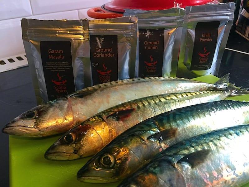 Mackerel_Scotia_Spice glasgow foodie explorers