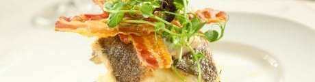 Pan-Fried-Sea-Bass-with-Crispy-Pancetta-and-Pea-Puree_Edinburgh cookery school glasgow foodie explorers food blog