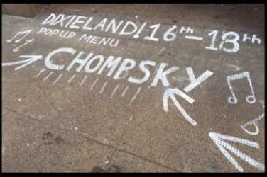 chompsky food pop up dixieland drury street glasgow