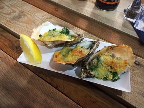 rockefeller oysters chompsky food pop up dixieland drury street glasgow