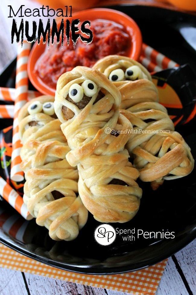 meatball_mummies halloween