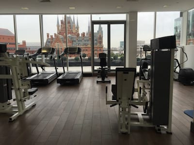 Pullman Hotel London St Pancras, gym