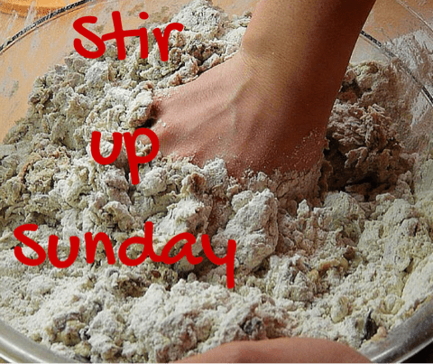 stir up sunday christmas pudding baking cooking advent