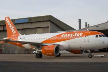 EASYJET NEW PLANE LIVERY Pix.Tim Anderson statement on graffitti