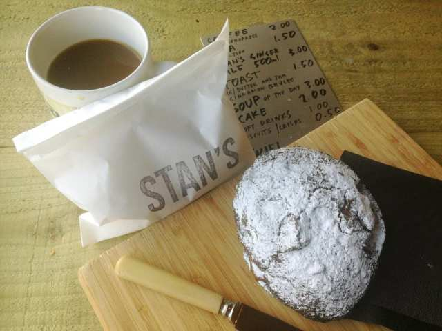 Stan's Studio - coffee and cake