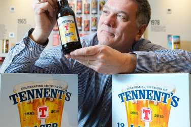 tennent's 80's retro