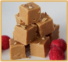 wee fudge company raspberry