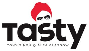 tony singh tasty glasgow logo
