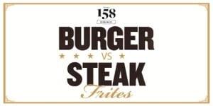 Hutchesons burger steak deal Glasgow