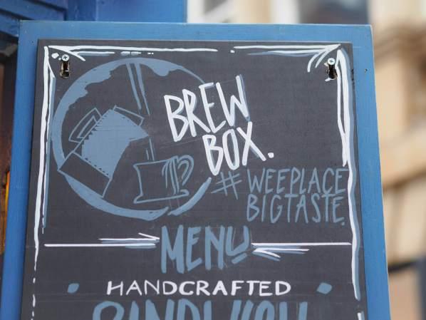 Brew Box Tardis