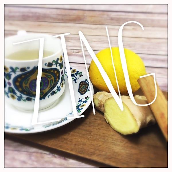 recipe home made ginger tea glasgow foodie