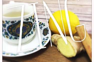 recipe home made ginger tea glasgow foodie