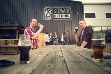 stewart brewing beer festival loanhead