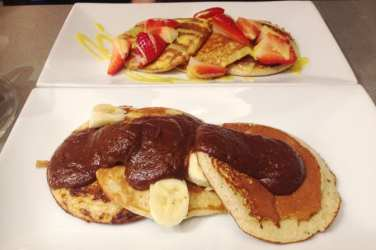Prep Fitness Kitchen - protein pancakes