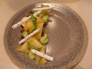 Ox_and_Finch_pineapple_carpaccio