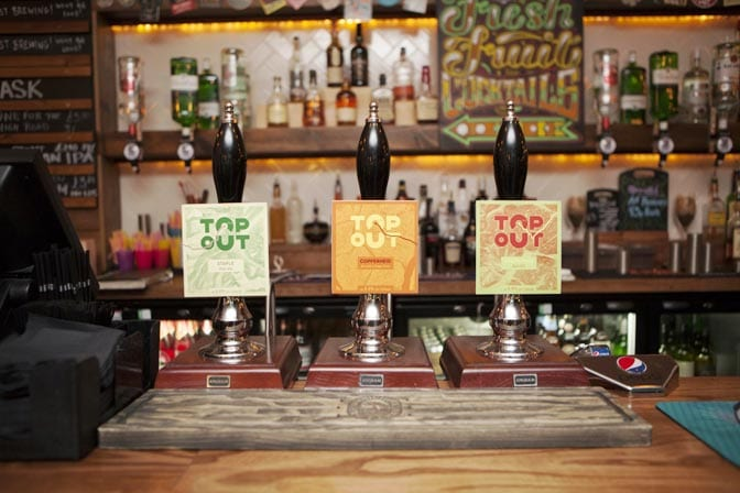 Top Out - beer pumps