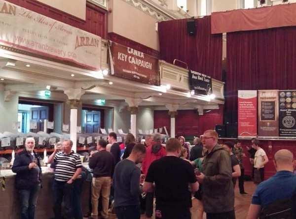 Paisley beer festival Glasgow foodie explorers
