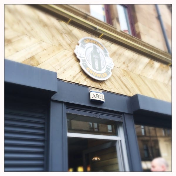 grunting growler beer shop glasgow foodie explorers food blog
