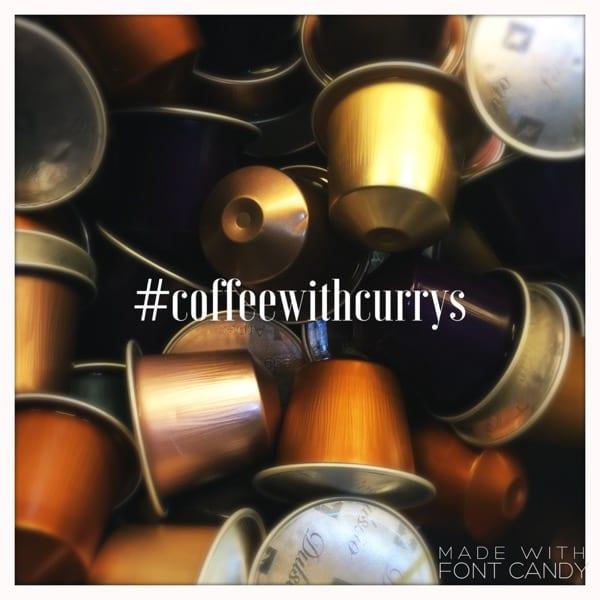 coffee with currys nespresso glasgow foodie explorers