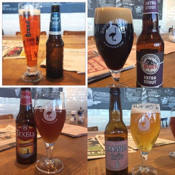Beer Schipol airport Amsterdam Glasgow foodie explorers