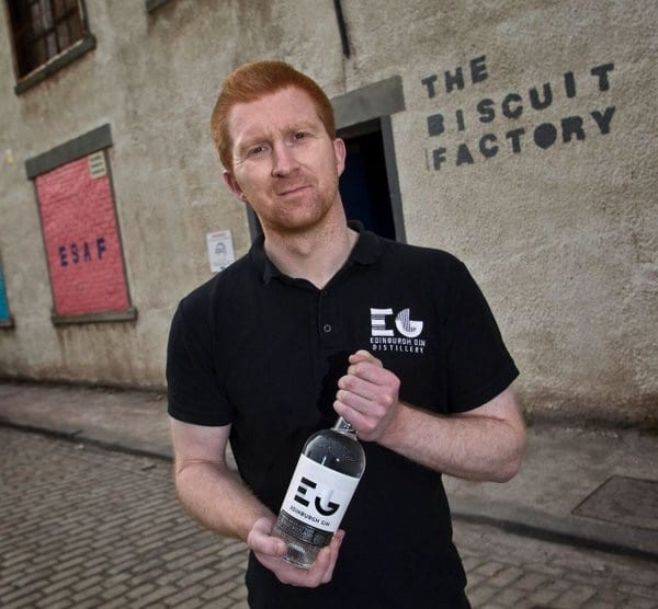 Edinburgh gin biscuit factory leith Glasgow foodie explorers