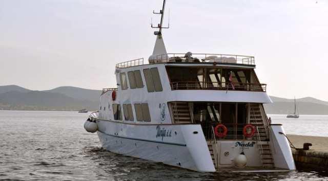 Nada ship docked