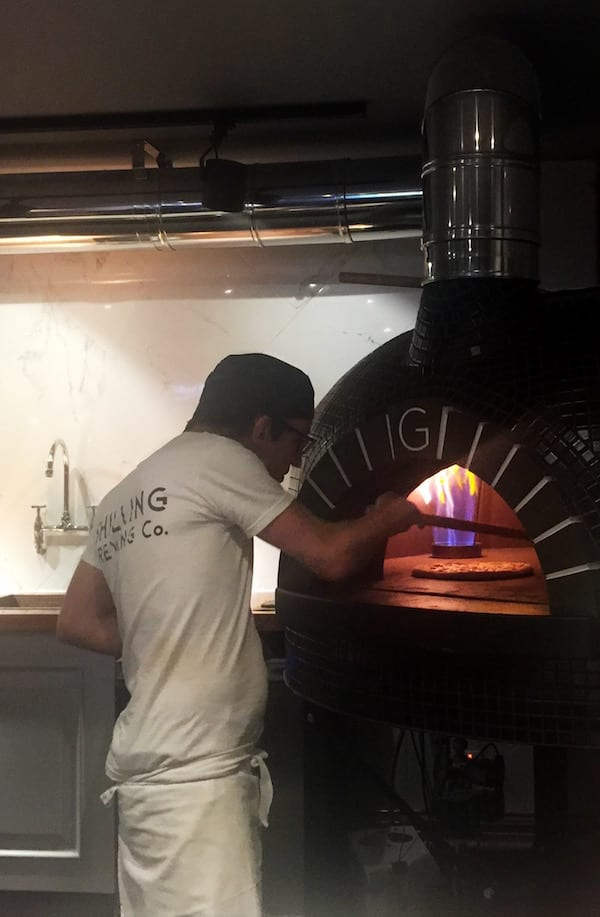 Shilling_Brewing_co_glasgow_pizza_oven